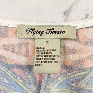 Flying Tomato Tops - Flying Tomato |  Boho Crop Top, S